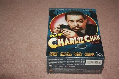Charlie Chan Collection - Vol. 2 (DVD, 2006, 4-Disc Set) *Brand New Sealed*