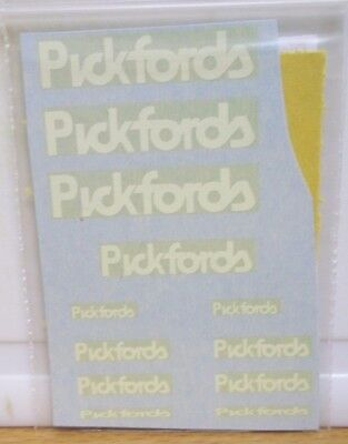 Pickfords decals  Water-slide (  )