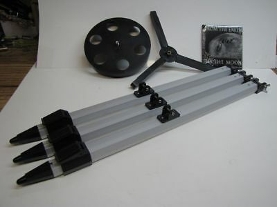 Meade aluminum telescope legs for horseshoe mounts & others with eyepiece tray
