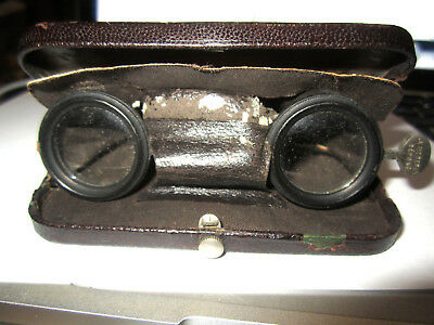 Antique A. Lefevre Paris France Opera Glasses Binoculars