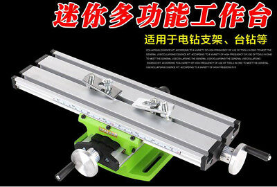 Mini Multifunction Working Table Milling Machine Worktable For Mini Bench Drill
