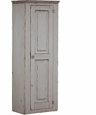 Chimney Cupboard Farmhouse Cabinet Painted Primitive Country Shabby Chic Pine