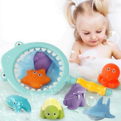 Colorful Bath Water Toys for Toddlers & Boys & Girls - Floating Animals Cute LD