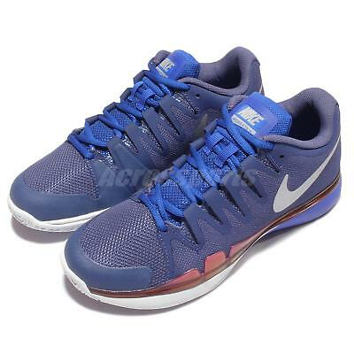 Wmns Nike Zoom Vapor 9.5 Tour Purple Blue Womens Tennis Trainers 631475-504