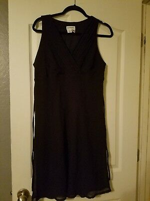 motherhood maternity dress large black