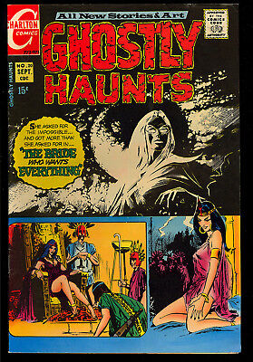 Ghostly Haunts #20 (#1) Very Nice First Issue Charlton Horror Comic 1971 FN