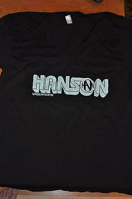 RARE NEW OFFICIAL Hanson Underneath 5 of 5 shirt size SMALL!