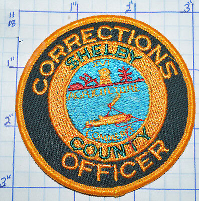 Tennessee, Shelby County Corrections Officer Sheriff Patch