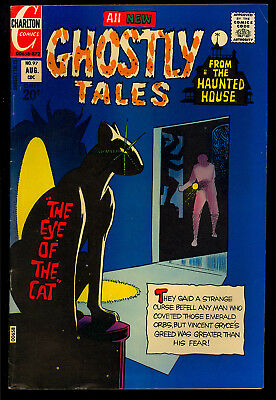 Ghostly Tales #97 Nice Ditko Cover Art Charlton Horror Comic 1972 VG+