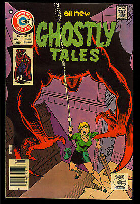 Ghostly Tales #121 Nice Ditko Cover Art Charlton Horror Comic 1976 FN-