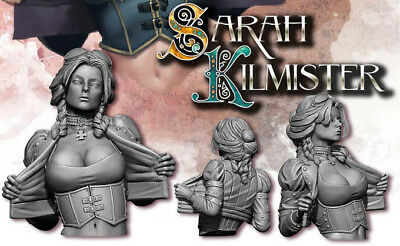 Sarah Kilmister | Bust | RESIN KIT 1/12 | Free Shipping Worldwide | 242