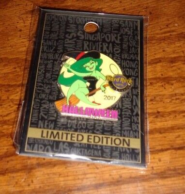 Hard Rock Cafe Lake Tahoe Hotel 2017 Halloween Pin Limited Edition New