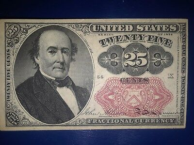 25 Cent Fractional Currency