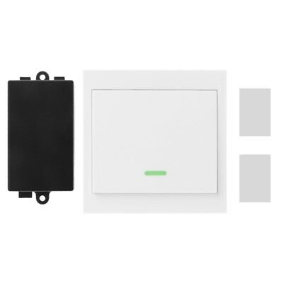 DC12V RF Wireless Remote Control Switch Receiver + Wall Panel Switch Transmitter