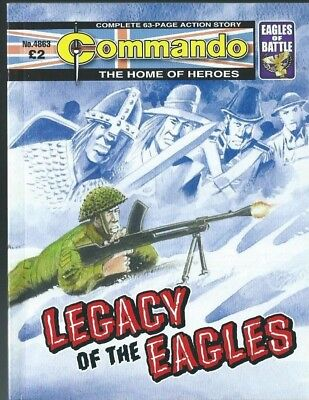 Legacy Of The Eagles,commando The Home Of Heroes,no.4863,war Comic,2015