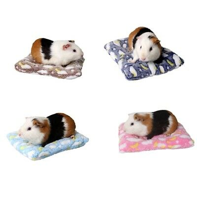 Soft Small Animal Pet Hamster House Nest Rat Mouse Winter Warm Bed Mat Pad TOP