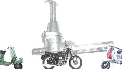 Lambretta Complete Fuel Tap Metal Filter Gp Li Tv Sx Scooters @cad