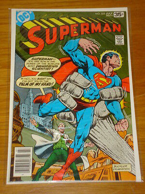 Superman #325 Vol 1 Dc Comics Near Mint Condition July 1978