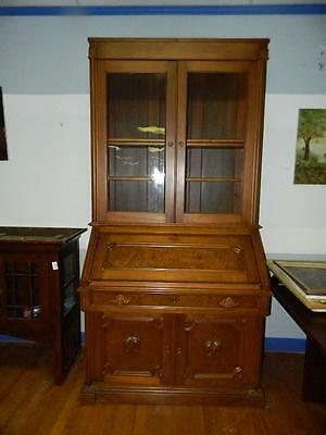 Antique Victorian Era Secretary Gorgeous
