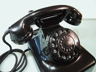 Original altes Post Telefon W48, 1A Zustand, restauriert!