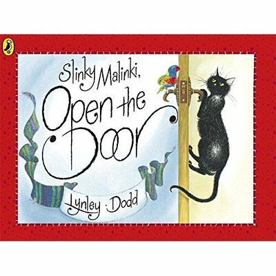 Slinky Malinki, Open the Door (Picture Puffin) - Paperback NEW Dodd, Lynley 1995