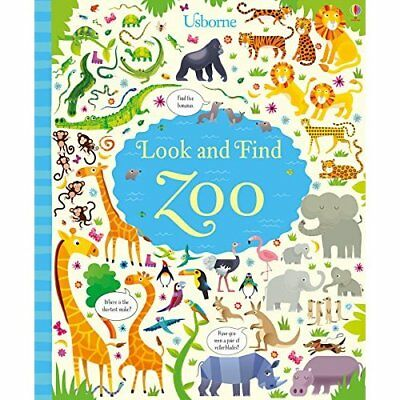 Look and Find Zoo - Hardcover NEW Kirsteen Robson 1 Feb. 2017