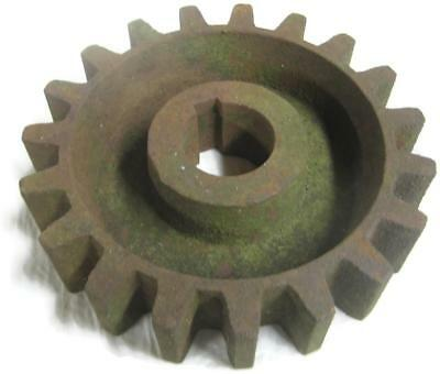 Old Rusty Cast Iron Pulley Sprocket Gear Primitive 6.5 In Iron Age Project Part