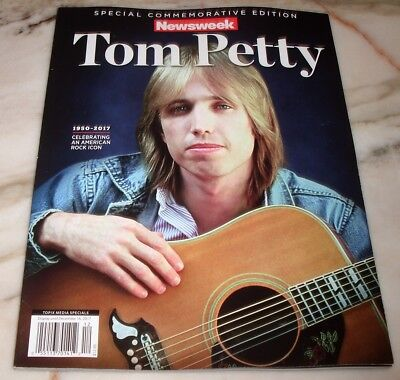 Tom Petty Special Commemorative Edition Magazine 1950 2017