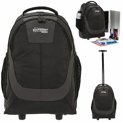 Trolley SOUTHWEST CARRIER XL Schultrolley Rucksack Trolly Trolleyrucksack BLACK