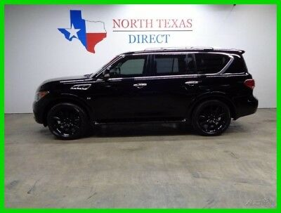 2014 Infiniti QX80 2WD GPS Navi Camera TV DVD Sunroof 22 Black Wheels 2014 2WD GPS Navi Camera TV DVD Sunroof 22 Black Wheels Used 5.6L V8 32V SUV