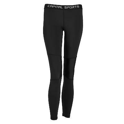 Pantalon long femme compression couche de base collant legging jogging sport S