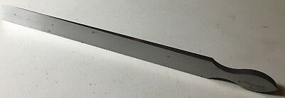 """1 """"blank"""" Used To Manufacture A Starrett Taper Gage Regular Steel Finish"""