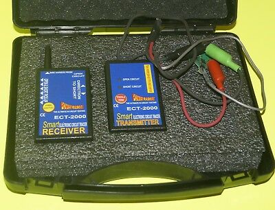 The Smart ECT2000 Receiver & Transmitter Set - The Smart Circuit Tracer
