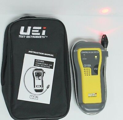 UEi Test Instruments CD100A Combustible Gas Leak Detector - Nice Condition!!