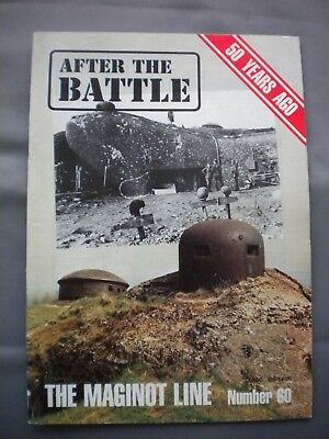 AFTER THE BATTLE THEN & NOW MAGAZINE No60  THE MAGINOT LINE