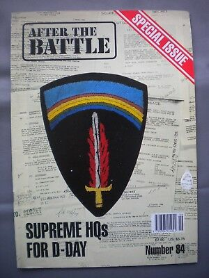 AFTER THE BATTLE THEN & NOW MAGAZINE No84 SUPREME HQs FOR D-DAY