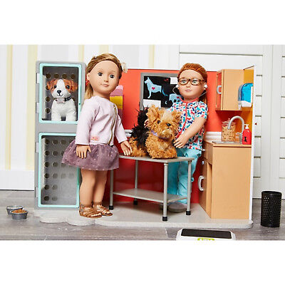 Our Generation Healthy Paws Vet Clinic dolls playset *FREE NEXT DAY DELIVERY
