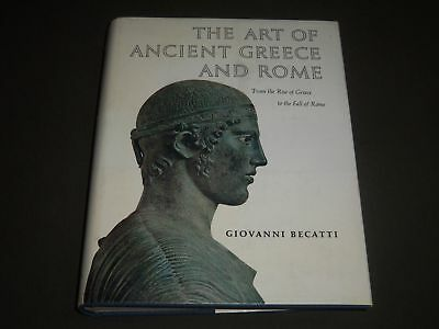 1967 The Art Of Ancient Greece And Rome By Giovanni Becatti Book - I 1118