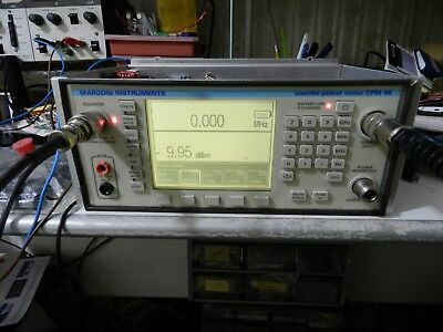 MARCONI CPM46 RF counter POWER METER