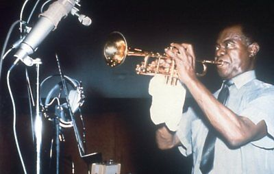 Louis Armstrong Rare 35Mm Slide Transparency 1