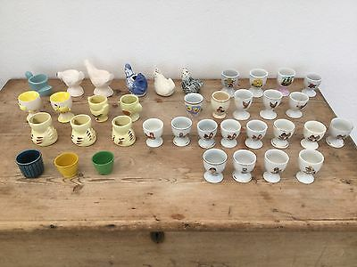 Vintage Bulk Lot Of Egg Cups Country Kitchen Shabby Chic