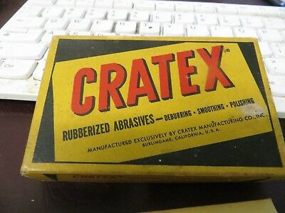 Old Packet Of Cratex Rubberized Abrasives