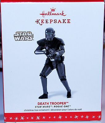 Hallmark Keepsake Ornament 2016 Star Wars Death Trooper Rogue One New Fast Ship