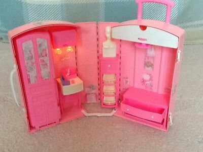 Barbie Take Along Travel Case Unfolds To Make A Barbie Dressing Room Vintage