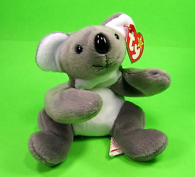 TY Beanie Baby Mel the Koala Australian Bear MWMT Birthday January 15 1996