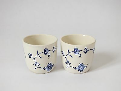 Finlandia Denmark blue white Egg Cups  Mason's Pottery Ceramic China