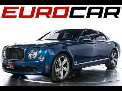 2016 Bentley Mulsanne Speed 2016 Bentley Mulsanne Speed - iPAD PICNIC TABLES, HIGHLY-OPTIONED, STUNNING!