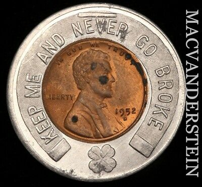 Lucky Penny: 1952 Lincoln Wheat - Lanternier Florists - #w7737