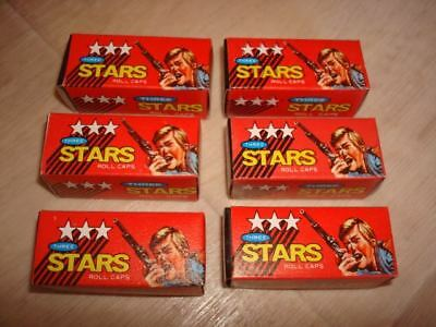 "Vintage ""Three Stars Roll Caps"" for Novelty Toy Guns"