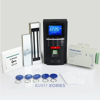Fingerprint And RFID Card Access Control System With 180kg Magnetic Door Lock